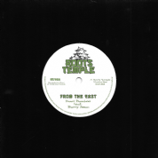 Yuuri Bamboo ft Barry Issac - From The East / Chazbo meets Hughie Izachaar - Dub From The East (Roots Temple) UK 7""